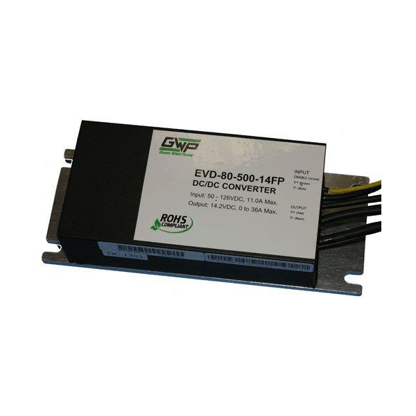 500 Watt DC/DC Converter for Electric Vehicles can be Paralleled for up to 5000 Watts