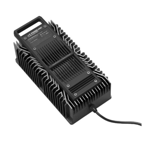 High-Density 600 Watt Electric Vehicle Charger for Lithium-Ion Applications with CAN Communications and IP65 Capability